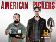 Frank Fritz (Class of and Mike Wolfe (Class of are the stars of the show American Pickers on the History channel. American Pickers, Movies Showing, Movies And Tv Shows, Country Music Videos, Video On Demand, Great Tv Shows, History Channel, Me Tv, Music Tv