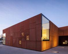 Biblioteca de la Ciudad de Brujas,© Tim Van de Velde