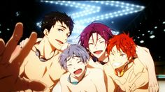 Free! Samezuka boys