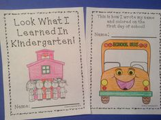 FREE: Back to School - Kindergarten - Progress Through the Year FREEBIE - Great for portfolios to show student progress throughout the year. Grab the entire pack for more skills and grade levels.
