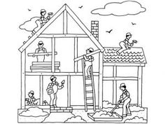 İnternational labor day coloring pages worker | labor day coloring ... - Labor Day Coloring Pages Kids