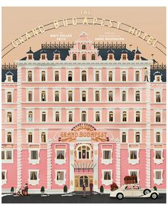 """""""The Wes Anderson Collection: The Grand Budapest Hotel"""" by Matt Zoller Seitz is on Rue. Shop it now."""