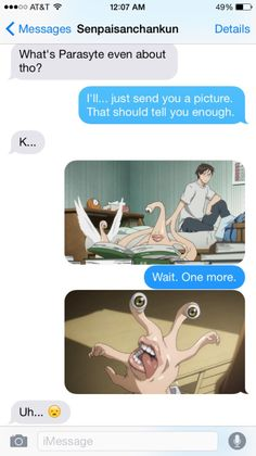 parasyte the maxim tumblr funny - Google Search