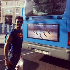 Compañía Nacional de Danza - CND en Punta's - cartel publicidad en autobuses Madrid, Teatro de la Zarzuela 2013