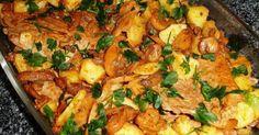 Bifanas na Caçarola INGREDIENTES: 500gr bifanas de porco 1 lata (grande) de cogumelos 2 colheres (sopa) de polpa de tomate 2 colheres (sopa) de banha ou manteiga 1dl vinho do Porto Sal e pimenta PREPARAÇÃO: Tempere as bifanas com sal e pimenta. Levar