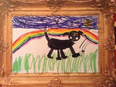 Rainbow walk for George