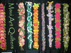 Maui Art Quilters Leis, Teaching, Amazing, Flowers, Jewelry, Maori, Jewels, Schmuck, Jewerly
