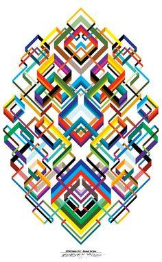 geometric patterns | Geometric Knot Theory by Matt W. Moore