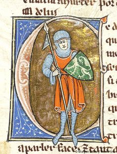 Lancelot du Lac, MS M.805 fol. 71r - Images from Medieval and Renaissance Manuscripts - The Morgan Library & Museum