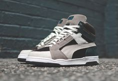 5f90f204c  Puma Slipstream (Made in Italy Collection) Brown  amp  Grey  sneakers Grey