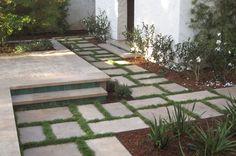 Stone Landscape – Willow Travertine Brushed Paving