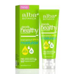 Alba Botanica Good And Healthy Broad Spectrum Spf 15 Moisturizer - 1.7 Oz