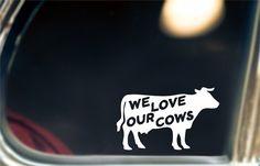 Dairy Farmer Window Decal!