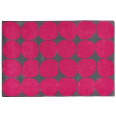 8 x 10' Ink Spot Rug (Pink) | The Land of Nod