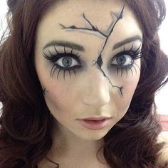 Break the Costume Mold With These Creepy Cracked-Doll Looks                                                                                                                                                      More