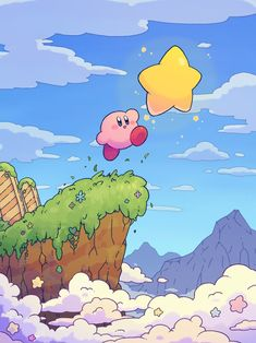 Animes Wallpapers, Cute Wallpapers, Aesthetic Art, Aesthetic Anime, Kirby Memes, Kirby Nintendo, Kirby Character, Dibujos Cute, Video Game Characters