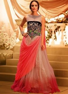 Buy Pink Net Gown online from the wide collection of UnStitched Gowns. This Pink colored UnStitched Gowns in Net fabric goes well with any occasion. Shop online Designer UnStitched Gowns from cbazaar at the lowest price. Long Gown For Wedding, Pink Wedding Gowns, Pink Gowns, Gown Wedding, Wedding Wear, Bridal Gown, Wedding Reception, Indian Party Gowns, Indian Gowns