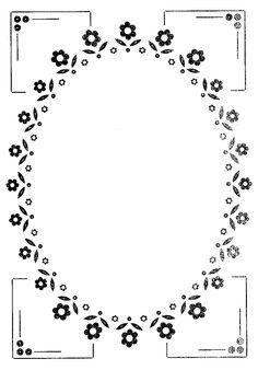 ovaal patroon
