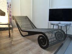 Seduta in metallo FedraVillaDesign for Cini snc