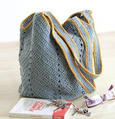 Crochet rope bag is very strong and perfect for your daily life. The beautiful grey suitable for a variety of occasions. Chilling on a day off, go to market, go to the beach, or cozily hanging out with friends. Size: Width (top) : 38cm Height (without handles) : 37cm Handles Height : 29cm
