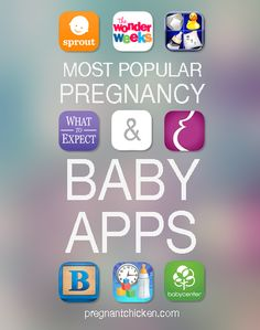 Most Popular Pregnancy & Baby Apps - Pregnant Chicken