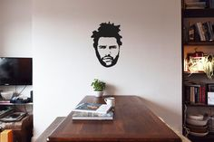 The WEEKND - Vinyl Wall Decoration on Etsy, £9.00