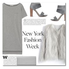 NYFW by xniko on Polyvore featuring polyvore T By Alexander Wang Chicwish Splendid FOSSIL