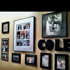 My wedding wall :)