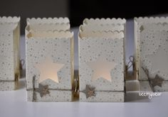 stampin with beemybear: Windlichter