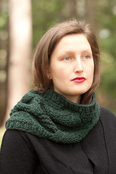 state street cowl - quince and co