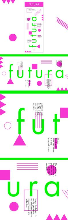 """Check out my @Behance project: """"Futura font infographic"""" https://www.behance.net/gallery/53673557/Futura-font-infographic"""