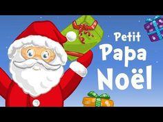 Petit Papa Noël (chanson de Noël pour petits avec paroles) - YouTube