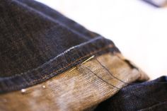 How to: Hem Jeans by Hand - CLOTHING