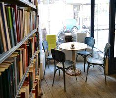 * La Fugitiva. Librería. Café (Madrid) *