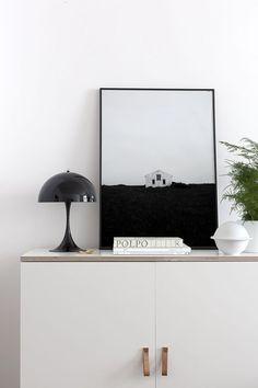 Panthella mini from Louis Poulsen - via Coco Lapine Design  #louispoulsen #panthellamini