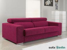 Sofá cama modelo Alcira fabricado por Suinta en Sofassinfin.es