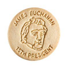 Dick & Jane Educational Snacks;  Presidential Edition;  James Buchanan,   15th President,   1857-1861
