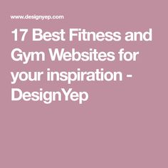 17 Best Fitness and Gym Websites for your inspiration - DesignYep