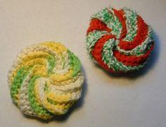 kinda want to make these crochet scrubbies