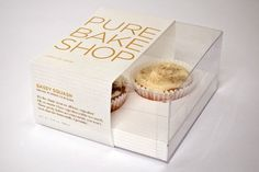 Pure Bake Shop, bakery specializing in gluten free products, packaging/graphic design by Michael Gump Jr.
