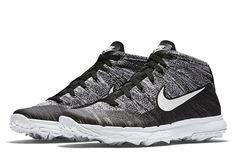 pretty nice f8eea 20beb Nike Flyknit Chukka Golf Shoe Nike Golf Clubs, Running Shoes Nike, Nike  Free Shoes