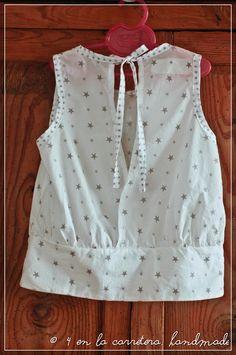 Akiko Mano's E pattern.Fabrics France Duval Stalla. By 4 EN LA CARRETERA.