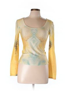 Check it out—Roberto Cavalli Long Sleeve Top for $50.99 at thredUP!