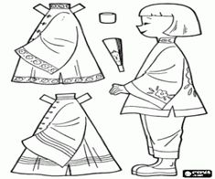 Boy Paper Dolls Coloring Pages Paper doll to dress up in