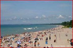 Is one of the happing places to be during the summer time. (located on lake Huron) Visit Canada, O Canada, Weekend Trips, Day Trips, Oh The Places You'll Go, Places To Visit, Lake Huron, I Love The Beach, Countries Of The World
