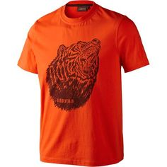 Harkila Fjal T-Shirt #harkila #tshirt #hunting #bear #shooting #country #outdoor #SS16 #orange
