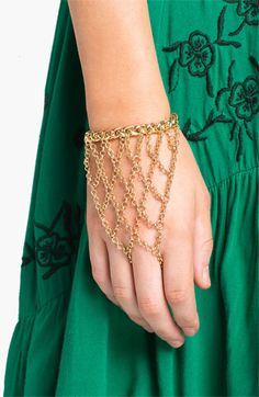 Cara Hand Chain available at #Nordstrom. This is cool.