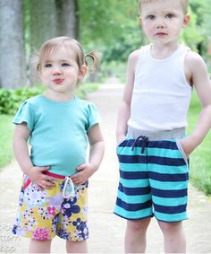 Coastal Craze Baggies sewing pattern for boys, girls and babies | The best sewing patterns for women, girls, toys and more. Go To Patterns & Co.