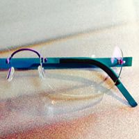 Customize your frames to what you want, because no one sees things the way you do.  Lindberg Eyewear