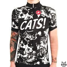 I would get this cycling jersey to impress my Aunt Shirley, lover of all cats.
